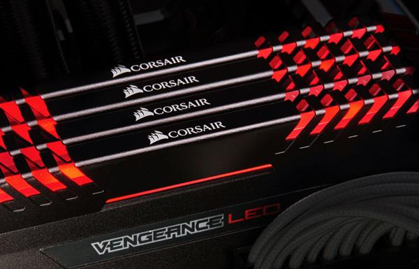 Corsair Vengeance LED RED