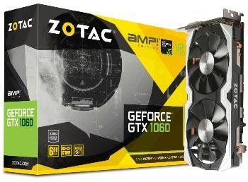 Zotac GeForce GTX 1060 AMP! Edition - 6 Go