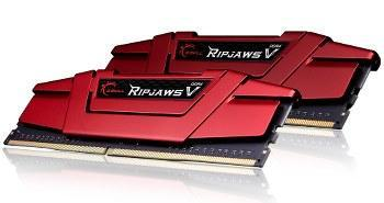 GSkill Ripjaws V Red DDR4 2 x 4 Go 3000 MHz CAS15