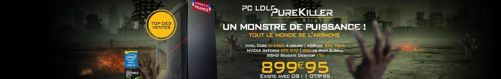 PC Gamer LDLC Purekiller