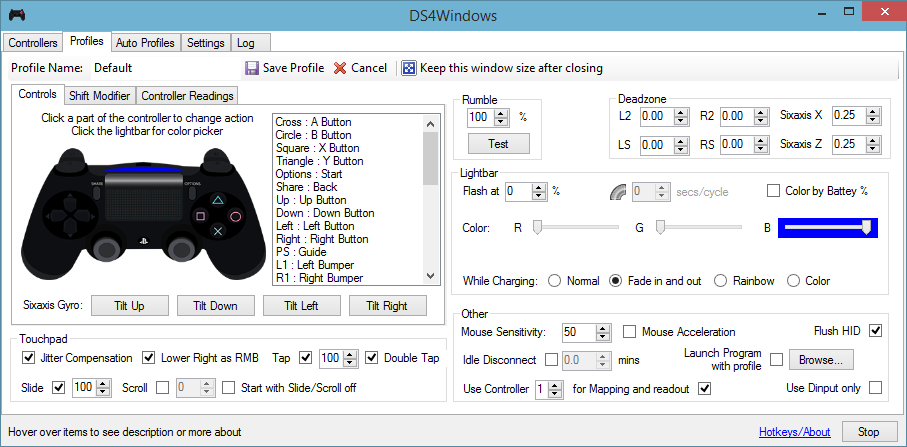 interface ds4windows