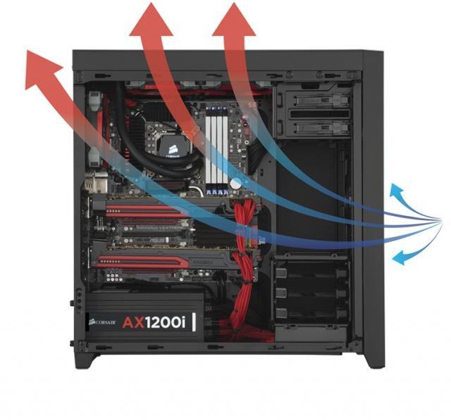 Ajouter un ventilateur son pc config - Montage d un pc de bureau ...
