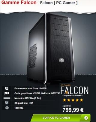 Materiel.net - Config Falcon