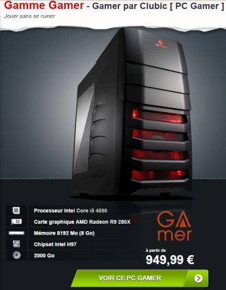 Materiel.net - Config Gamer