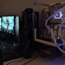 Watercooling Blanc