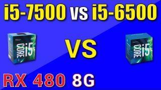 Intel i5-7500 vs i5-6500 Benchmark