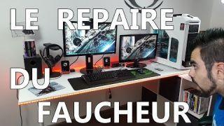 SETUP GAMING ROOM - LE REPAIRE DU FAUCHEUR