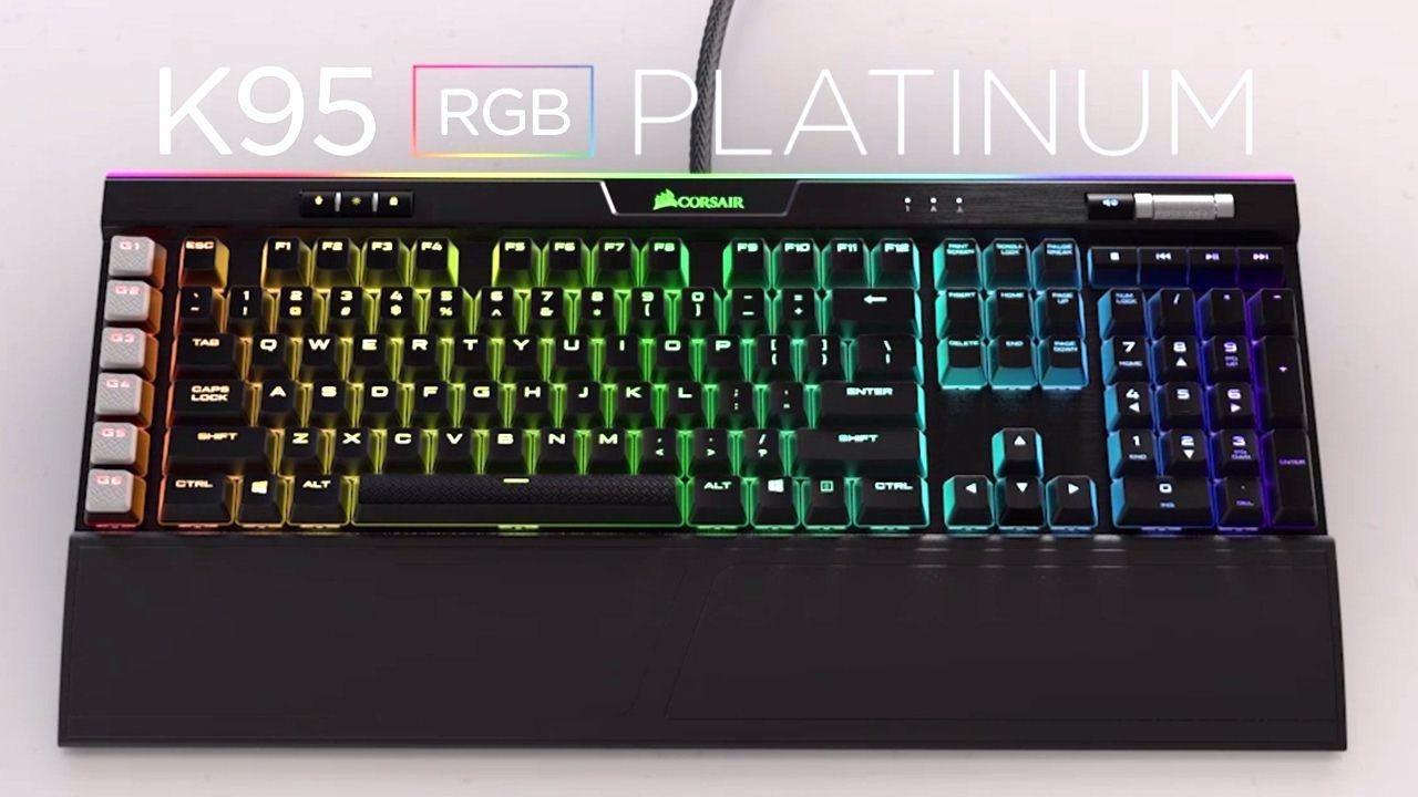 CORSAIR K95 RGB PLATINUM - Official Trailer