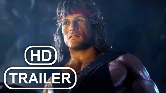 MK11 RAMBO Trailer Sylvester Stallone (2020) Mortal Kombat 11 Kombat Pack 2 HD