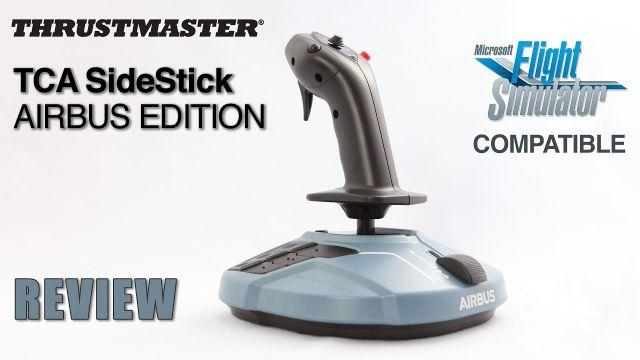 [FR] Thrustmaster TCA SideStick Airbus Edition - Review - Unboxing - MFS 2020 Compatible