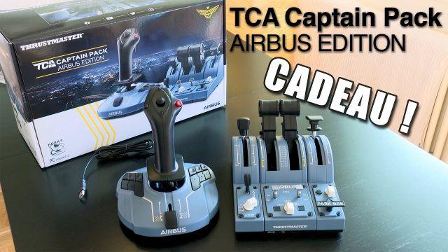 [FR] UNBOXING et GIVEAWAY Thrustmaster TCA Captain Pack Airbus Edition. Réupload