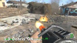 Fallout 4 v1.3 debris Effect