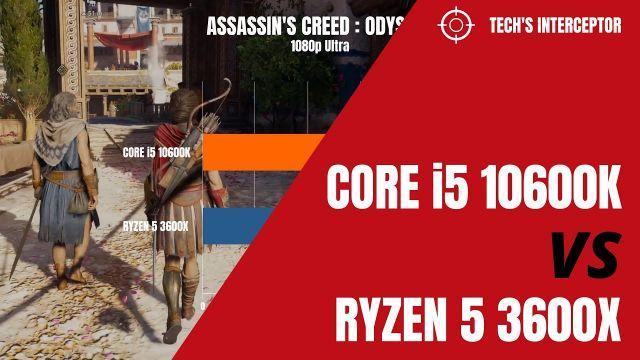 i5 10600k vs Ryzen 5 3600X - Intel i5 10600k benchmark