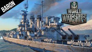 World of Warships Montana Tier 10 American Battleship Gameplay