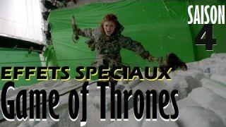 Game of Thrones-Effets Spéciaux-Special effects [SAISON 4] [HD] - Zapping du Gamer #4