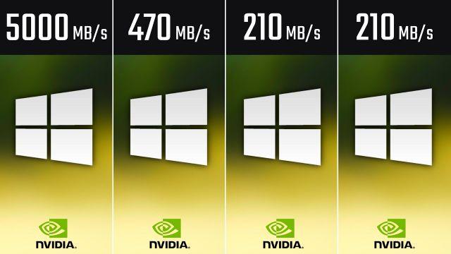 NVMe M.2 PCIe vs. SSD vs. SSHD vs. HDD