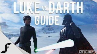 LUKE VS DARTH VADER - Star Wars Battlefront Hero Guide