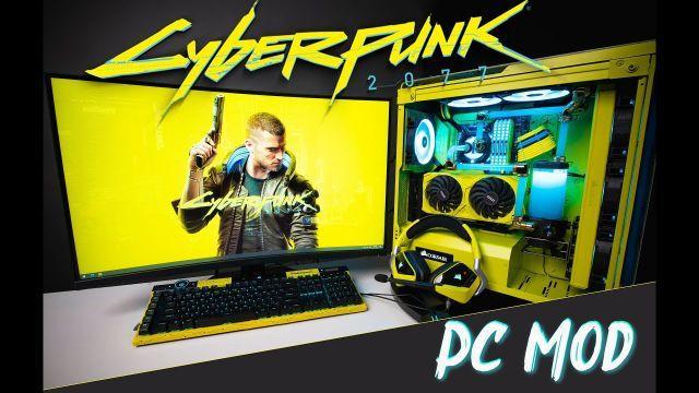 @Cyberpunk 2077 PC Case Mod | @CORSAIR x @MSI Gaming | Cinematic Video