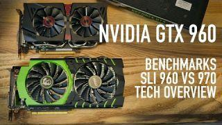 Nvidia GTX 960 SLI Benchmarks VS GTX 970 & Technology Overview | MSI & ASUS Cards