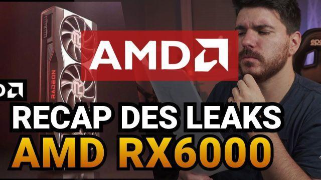 Récap des leaks AMD BIG NAVI RX 6900XT / RX 6800XT / RX 6800, avant la conférence AMD.