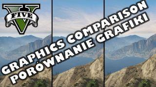 GTA V PC - Graphics settings comparison / Porównanie ustawień graficznych /