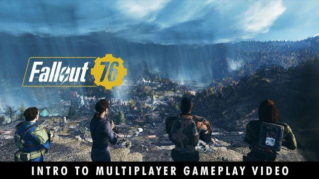 Fallout 76 – You Will Emerge! Introduction to Multiplayer Gameplay Video