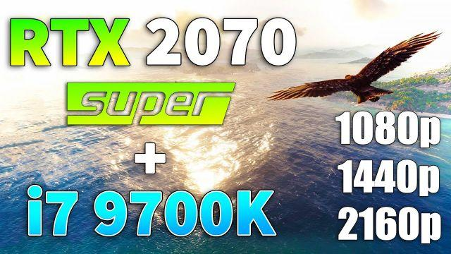 RTX 2070 SUPER + i7 9700K Test in 10 Games