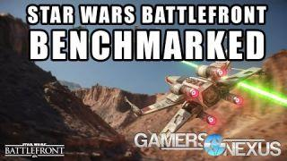 Star Wars Battlefront PC Graphics Card Benchmark - 1080, 1440, 4K