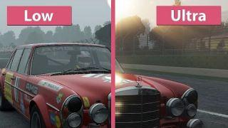 Project CARS – PC Low vs. Ultra Graphics Comparison
