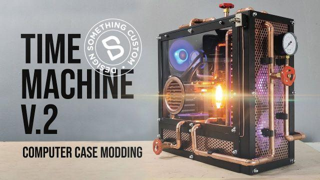 Time Machine V2 PC Case Modding | Design Something