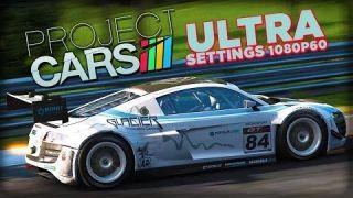 Projet Cars Ultra Settings