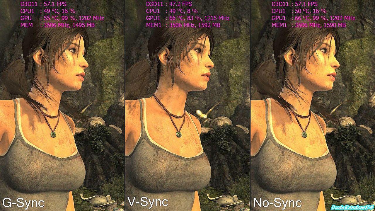 G-Sync Vs V-Sync Vs No-Sync | Stutter Test