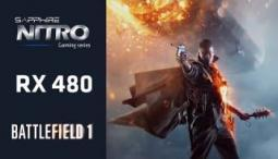SAPPHIRE NITRO+ RX 480 Battlefield 1 Beta PC Gameplay DX12 1080p 60fps [Ultra Settings]