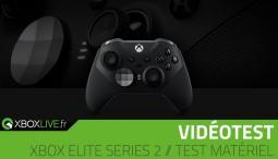 Test Manette Xbox Elite Series 2 pour Xbox One, Windows 10 et Xbox Scarlett