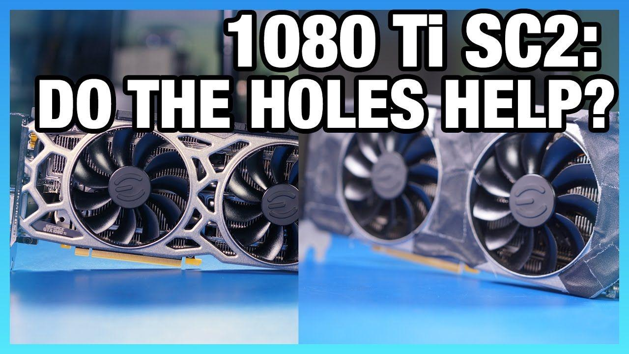 EVGA GTX 1080 Ti SC2 ICX Review: Does the Faceplate Help?