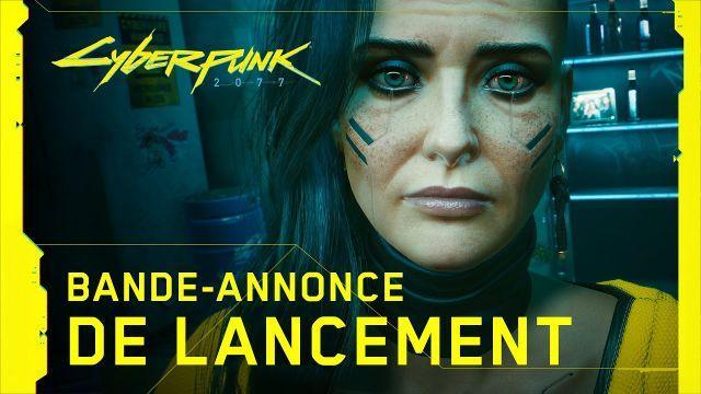 Cyberpunk 2077 — Bande-annonce de lancement officielle — V