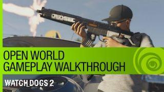 Watch Dogs 2 Gameplay Walkthrough: Open World Free-Roam with Multiplayer - GamesCom 2016 [US]