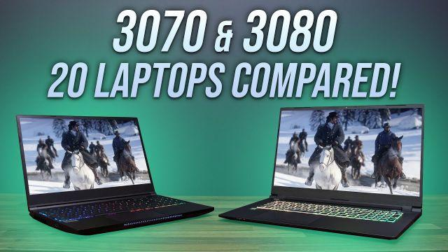 Portable Gamer - RTX 3070 & 3080 In 10 Games!