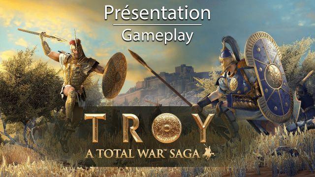 Un peu de gameplay sur Total war Saga : Troy