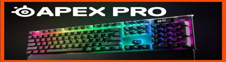 Adjustable Mechanical Switches on the Fastest Keyboard Ever - SteelSeries Apex Pro