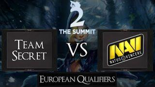 Dota 2 Team Secret vs Na'Vi | The Summit 2