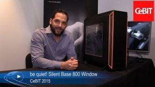 CeBIT 2015: be quiet! Silent Base 800 Window Gehäuse mit Seitenfenster | Allround-PC.com