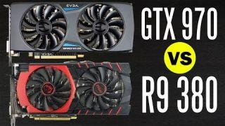 MSI R9 380 vs EVGA GTX 970 - Graphics Card Comparison