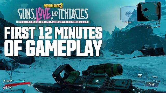 "Borderlands 3 - ""Guns, Love, and Tentacles"" First 12 Minutes of Gameplay"