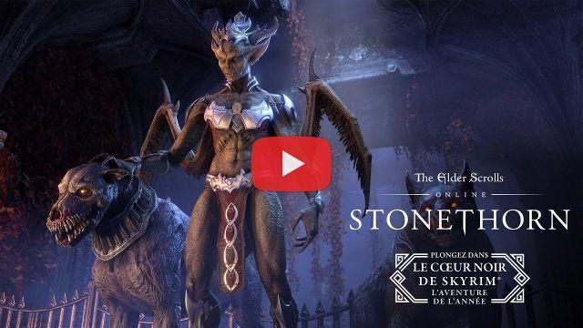Trailer de gameplay de The Elder Scrolls Online: Stonethorn
