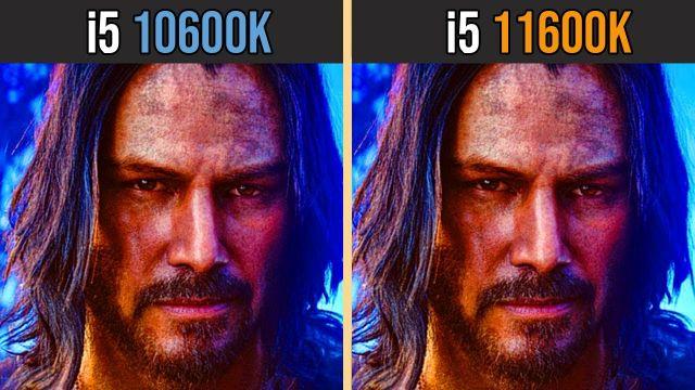 INTEL i5-10600K vs INTEL i5-11600K | Test in 8 Games