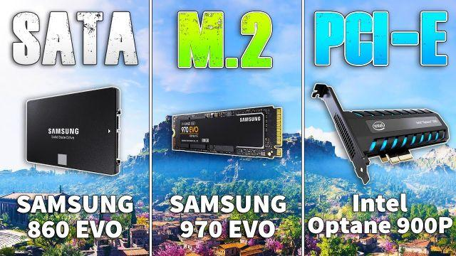 Which Type of SSD is Better SATA, M.2 or PCIe?