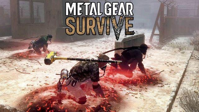 METAL GEAR SURVIVE - Co-op Gameplay (Salvage: Wrecked Basel) @ 1080p HD ✔