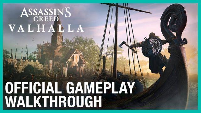 Assassin's Creed Valhalla: Official 30 Minute Gameplay Walkthrough | UbiFWD July 2020 | Ubisoft NA