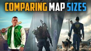 The Division | Map Size Comparison To GTA V & Fallout 4
